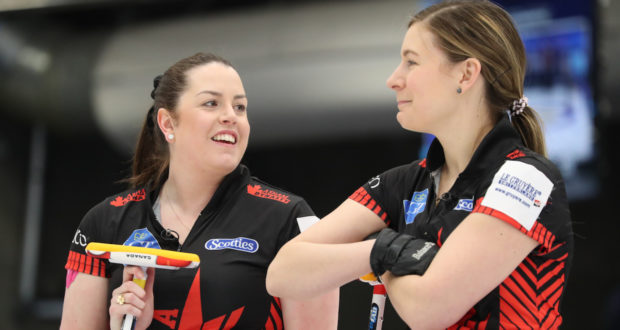 Team Canada posts first victory at World Women's Curling Championship