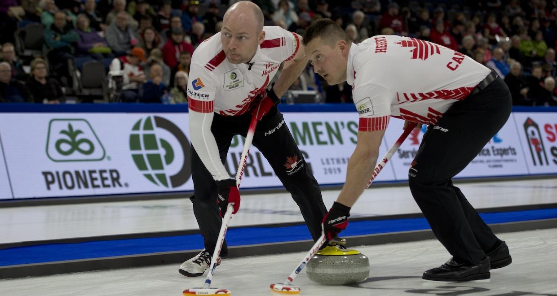 Lethbridge Ab Mar 31, 2019 Pioneer Men's World Curling