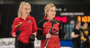 Day Three at the 2019 CCAA Curling Canada Championships in Fredericton