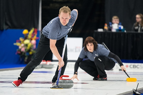Curling Canada | Playoffs set at 2019 Canadian Mixed Doubles ...
