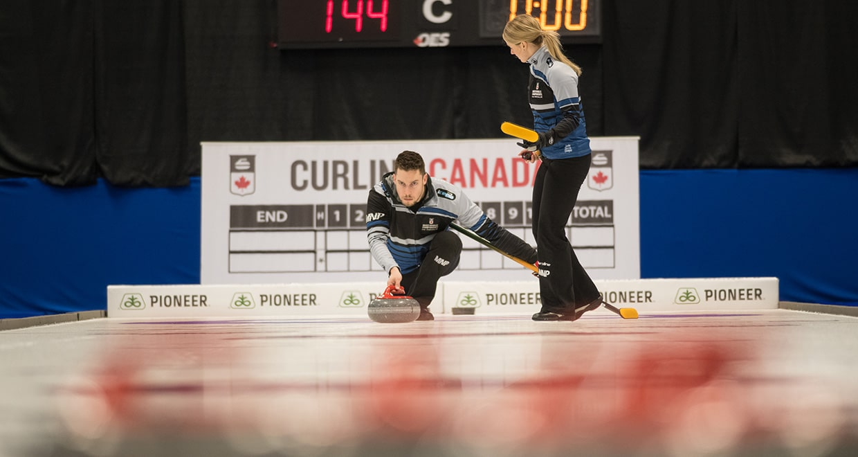 2019 Canadian Mixed Doubles Curling Championship underway in