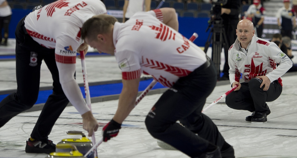 Lethbridge Ab April 3 2019 Pioneer Men's World Curling