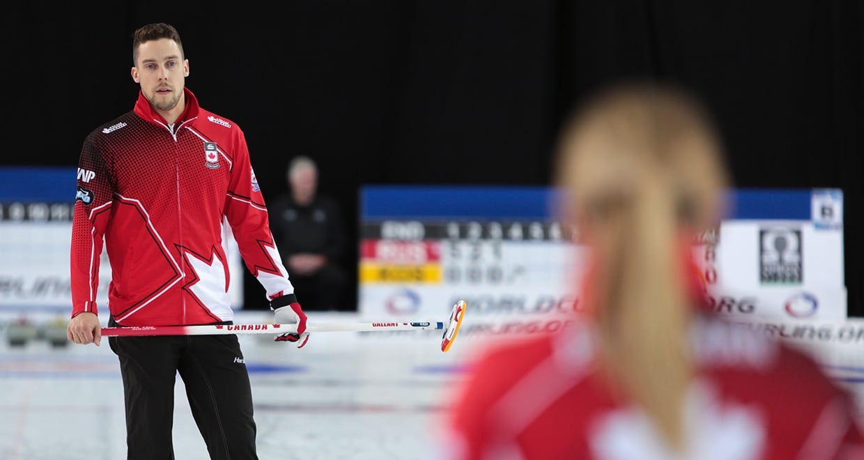 Peterman/Gallant pick up opening day win at 2019 World Mixed