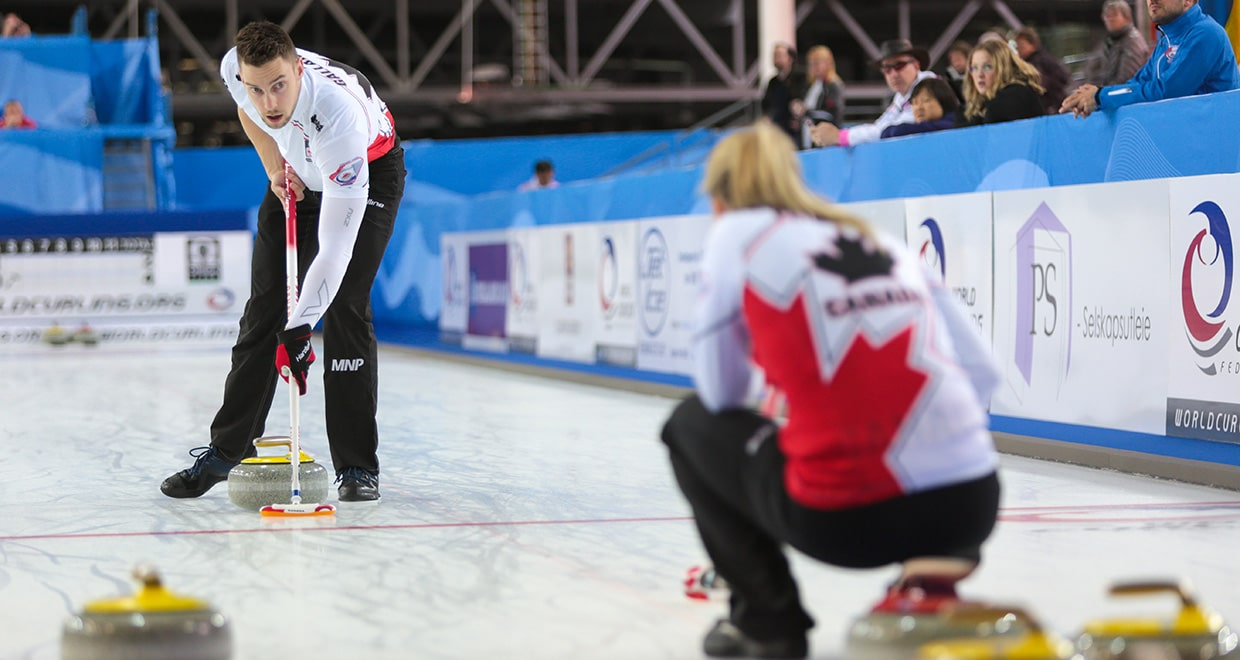 Canada strikes down Sweden at 2019 World Mixed Doubles