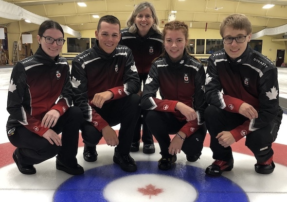 Curling At The 2020 Olympic Winter Games.Curling Canada 2020 Youth Olympic Games Team