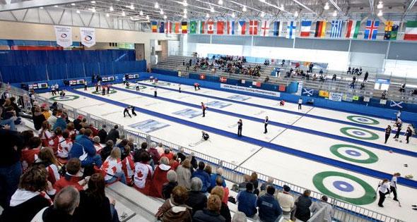 Vancouver Olypmic Centre, Curling Venue