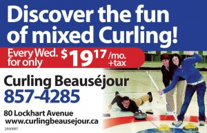 Mixed Promotion from Curling Beausejour