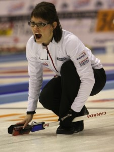 Kim Schneider (Photo: World Curling Federation)