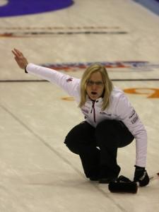 Amber Holland (Photo: World Curling Federation)