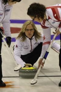 Team Canada's Amber Holland