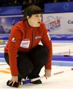 Heather Kalenchuk (Photo: World Curling Federation)