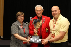 The 2011 Governor's Cup was awarded to New Brunswick