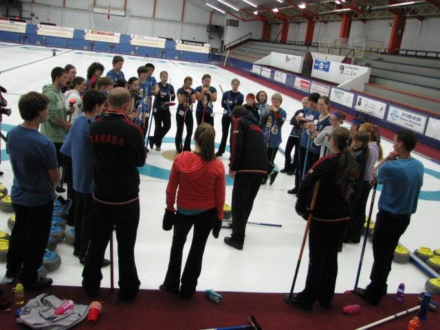 Summer Curling Camps Skills Development And Fun Curling Canada