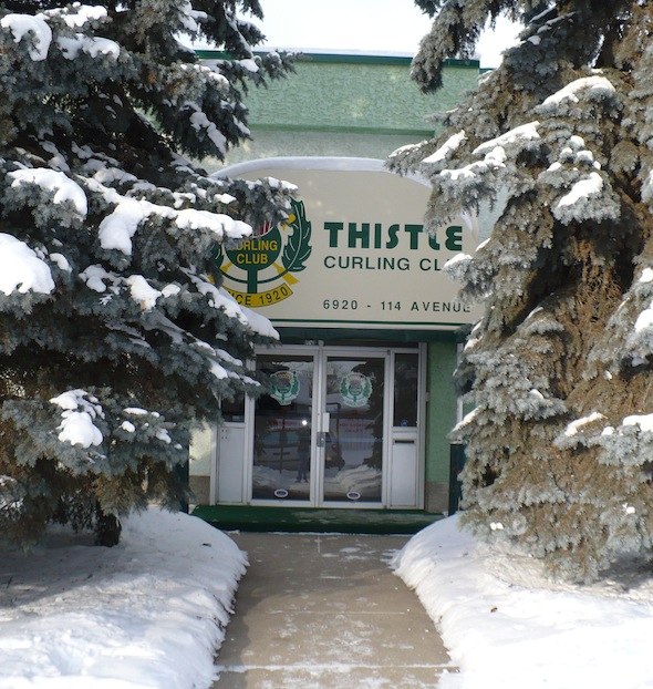 Edmonton's oldest curling club, the Thistle, will play host to the 2015 Canadian Senior Men's and Women's Curling Championships. (Photo, courtesy Thistle Curling Club)