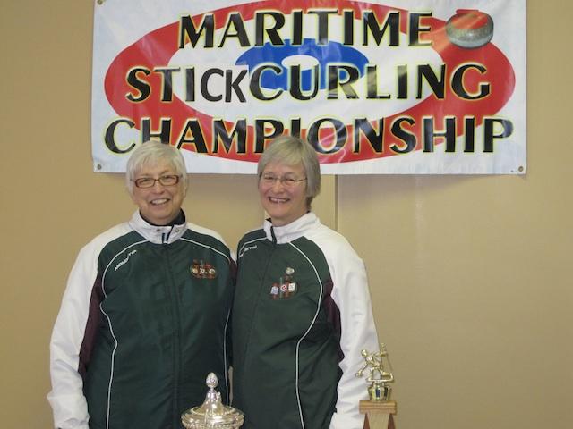 Gloria Clarke and Ruth Stavert (Photo Curl PEI)