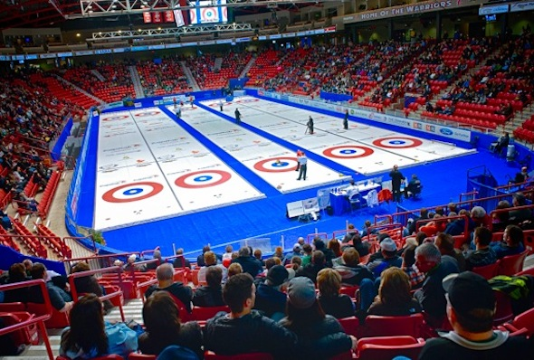 Mosaic Place in Moose Jaw, Sask., will play host to the 2015 Scotties Tournament of Hearts.
