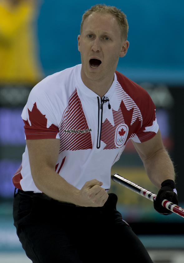 The first pumps were back as Team Canada beat Russia on Tuesday night in Sochi. (Photo, CCA/Michael Burns)