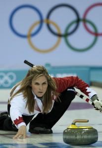 Team Canada skip Jennifer Jones. (Photo, CCA/Michael Burns Photography)