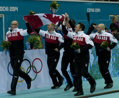 The victory lap in Sochi!