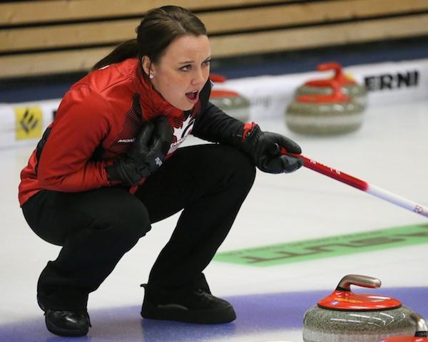 Team Canada skip Kelsey Rocque (Photo WCF/Richard Gray)
