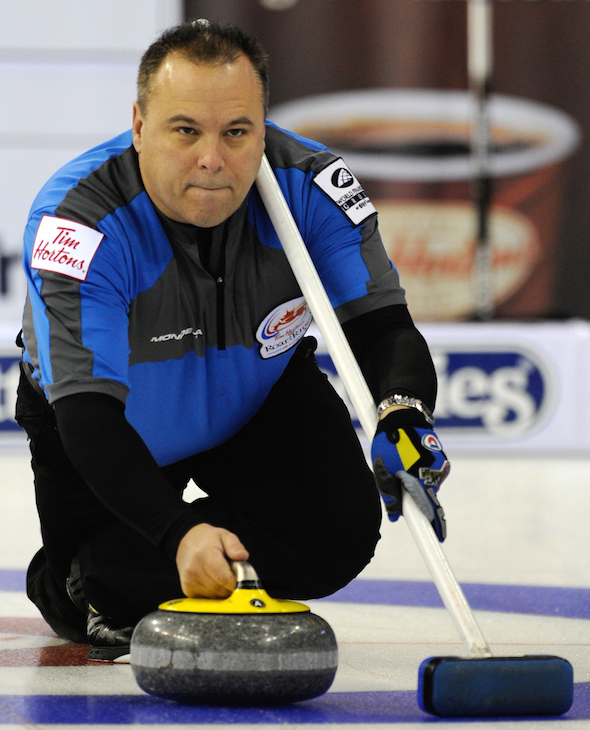 Four-time world champion Randy Ferbey of Edmonton has been named to the World Curling Hall of Fame. (Photo, Canadian Curling Association/Michael Burns)