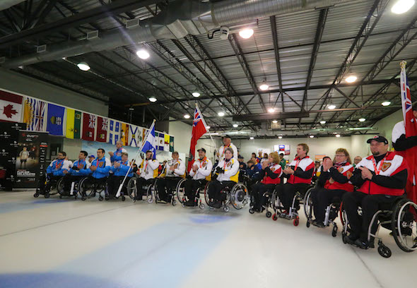 Canada's top wheelchair curlers will once again gather in Boucherville, Que., for the 2015 Canadian Championship. (Photo, Morgan Daw)